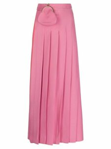 Seen Users pleated maxi skirt - PINK