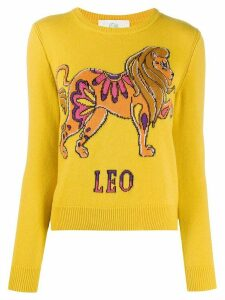 Alberta Ferretti Love Me Starlight Leo jumper - Yellow