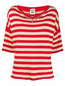 Semicouture striped T-shirt - Red