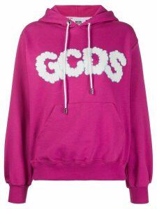Gcds logo print hoodie - PINK