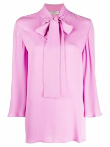 Valentino pussy bow blouse - PURPLE