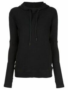 ALALA Rise dolman hoodie - Black