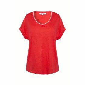 Gerard Darel Oversized Linen T-shirt