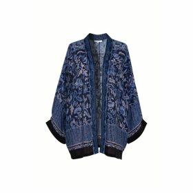 Gerard Darel Printed Kimono-style Cardigan