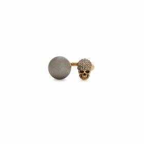 Kenzo Black Tiger-embellished Cotton Sweatshirt