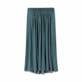 Jigsaw Crocus Drape Smocked Skirt
