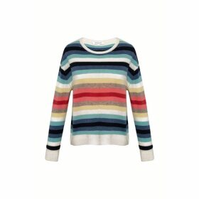 Gerard Darel Striped Cashmere Sweater