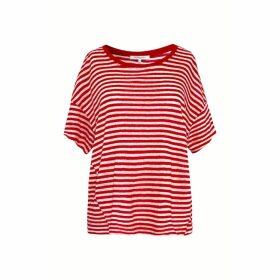 Gerard Darel Striped Linen T-shirt
