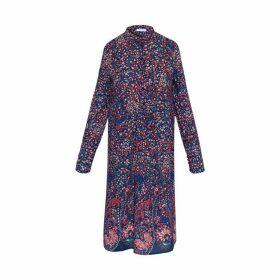 Gerard Darel Crepe Dali Mini Dress