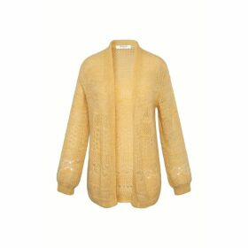 Gerard Darel Mohair And Lurex Cardigan