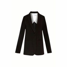 Gerard Darel Tailored Crepe Jacket