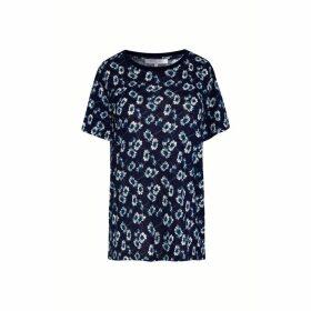 Gerard Darel Floral Print Jersey T-shirt
