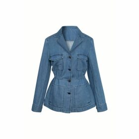 Gerard Darel Field Jacket In Jean