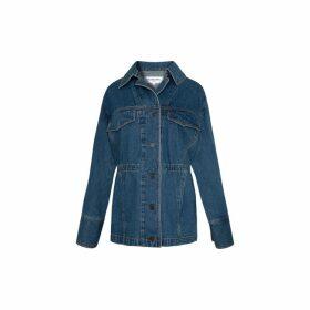 Gerard Darel Oversized Jean Jacket
