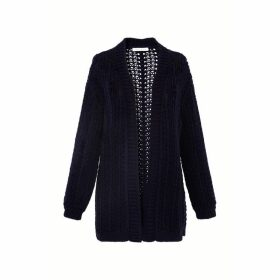 Gerard Darel Combed Cotton Cardigan