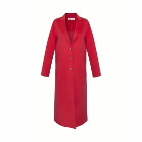 Gerard Darel Double Face Wool Coat