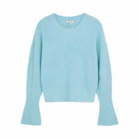 Joie Soleine Light Blue Wool Jumper
