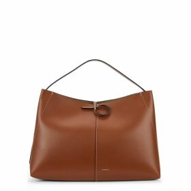 Wandler Ava Brown Leather Tote