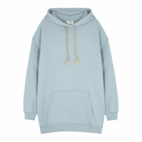 Acne Studios Fanita Blue Hooded Jersey Sweatshirt