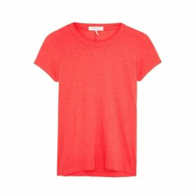 Rag & Bone Coral Slubbed Pima Cotton T-shirt