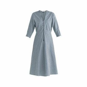 PAISIE - Pam Striped Midi Dress