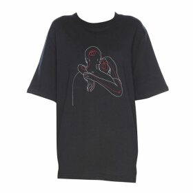 Kith & Kin - Silver Hoodie Bomber Jacket