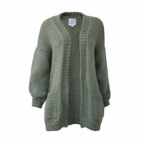 THE KNOTTY ONES - Jurgis Cardigan In Moss Green