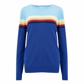 Sugarhill Brighton - Rita Sundown Spectrum Sweater Blue