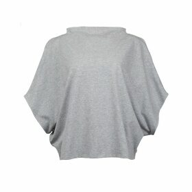 Malaika New York - Hexagon Organic Cotton T-Shirt Grey