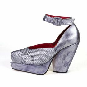 Hayley Menzies - Leopardess Short Cardigan in Black & White