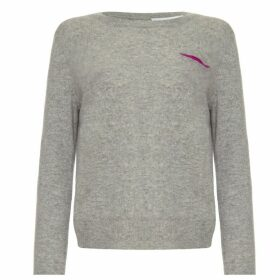 Les 100 Ciels - Melody Cashmere Jumper In Grey