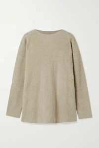 Lauren Manoogian - Pima Cotton-blend Sweater - Mushroom