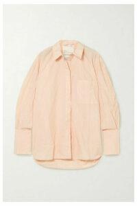 BITE Studios - + Net Sustain Oversized Crinkled-organic Cotton Shirt - Silver