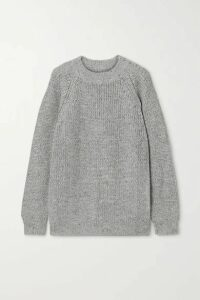 Lauren Manoogian - Shaker Knitted Sweater - Light gray