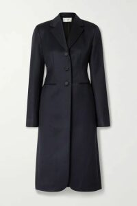 The Row - Panois Wool-twill Coat - Navy