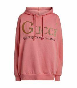 Gucci Cotton Slogan Hoodie