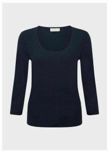 Daisy Top Navy