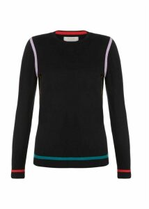 Nicole Sweater Black Multi