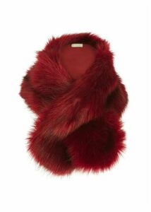 Leigh Neck Wrap Red