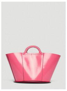 Marni Mini Bucket Bag in Pink size One Size