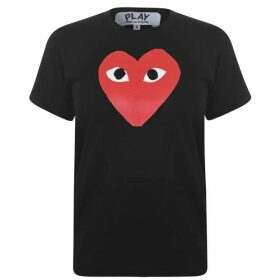 Comme des Garcons PLAY Heart Logo T Shirt