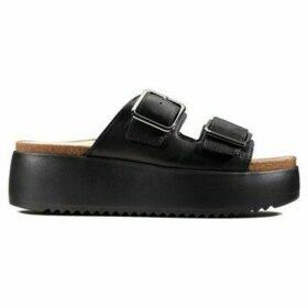 Clarks  Botanic Slide  women's Sandals in Black