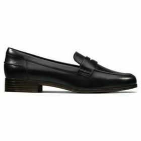 Clarks  Hamble Loafer  women's Loafers / Casual Shoes in Black