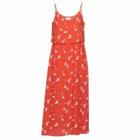 Moony Mood  PAULINE  women's Long Dress in Red