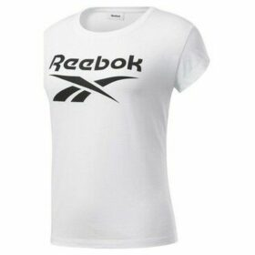 Reebok Sport  Graphic Tee  women's T shirt in White