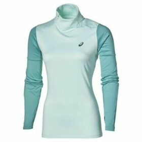 Asics  Lite Show Winter LS  women's Sweatshirt in Green