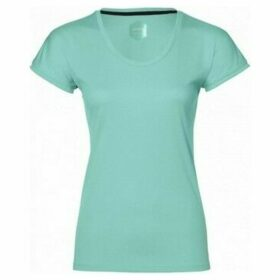 Asics  Capsleeve Top  women's T shirt in Green