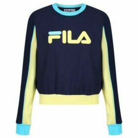 Fila  Nuria Colourblock Sweatshirt  women's Sweatshirt in Blue