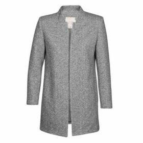 Moony Mood  GARBI  women's Coat in Grey