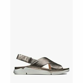 Clarks Tri Alexia Cross Strap Sandals, Stone